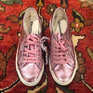 Superga Fantasia Cotu Metallic Pink Sneakers